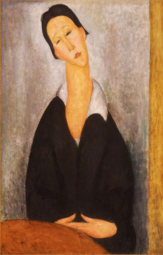 Ritratto di una donna polacca di Amedeo Modigliani