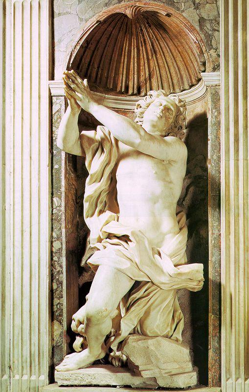 Daniele nella fossa dei leoni di Gian Lorenzo Bernini