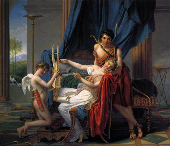 Saffo e Faone di Jacques-Louis David