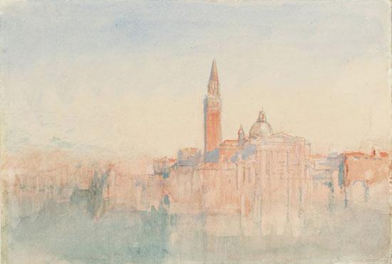 San Giorgio Maggiore al tramonto di Joseph Mallord William Turner