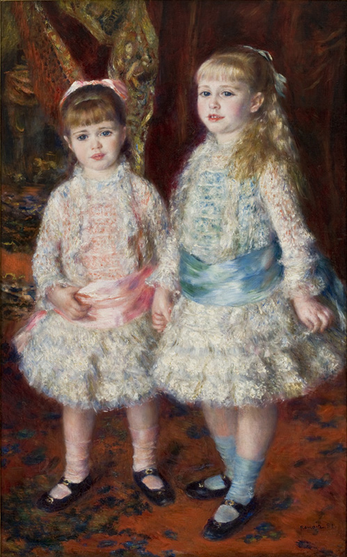 Rosa e Azzurro di Pierre-Auguste Renoir