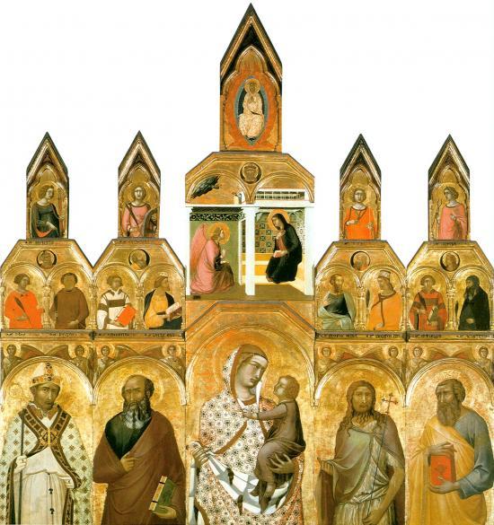Polittico tarlati di pietro lorenzetti finestre sull - Finestre sull arte ...