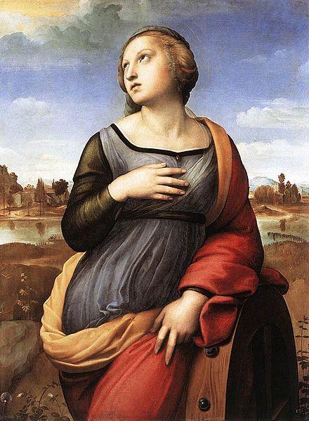 Santa Caterina d'Alessandria di Raffaello