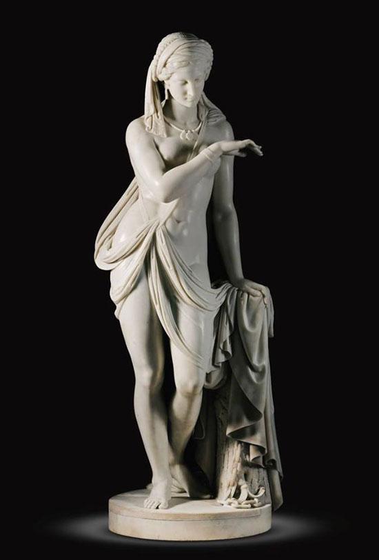 La schiava greca di Scipione Tadolini