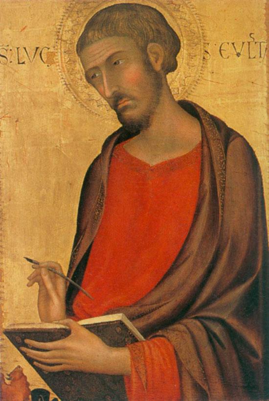 San Luca di Simone Martini