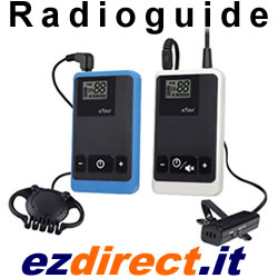 Ezdirect Radioguide per visite guidate