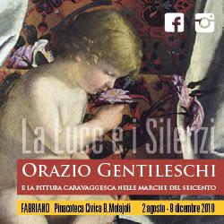 La luce e i silenzi: Orazio Gentileschi e la pittura caravaggesca nelle Marche. A Fabriano, Pinacoteca Molajoli, fino all'8 dicembre 2019
