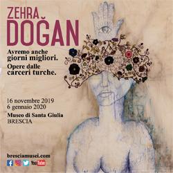 Zehra Dogan. Avremo anche giorni migliori. Opere dalle carceri turche. A Brescia, Museo di Santa Giulia, dal 16 novembre 2019 al 6 gennaio 2020