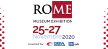Rome Museum Exhibition. A Roma, Fiera Internazionale, dal 25 al 27 novembre 2020