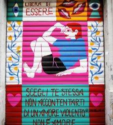 Arte sull'arredo urbano per dire no alla violenza sulle donne