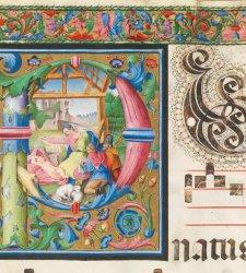 Pavia, termina il restauro dell'importante Codice Miniato 822 della Certosa