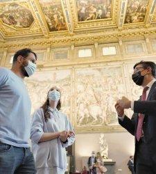 L'idea di Nardella per far ripartire il turismo a Firenze: affiancare vip alle guide turistiche
