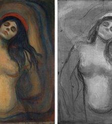 Importante scoperta sulla Madonna di Edvard Munch: riemerge il disegno preparatorio