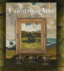 Il sommario del numero 11 di Finestre sull'Arte on paper, tutto su arte e ambiente