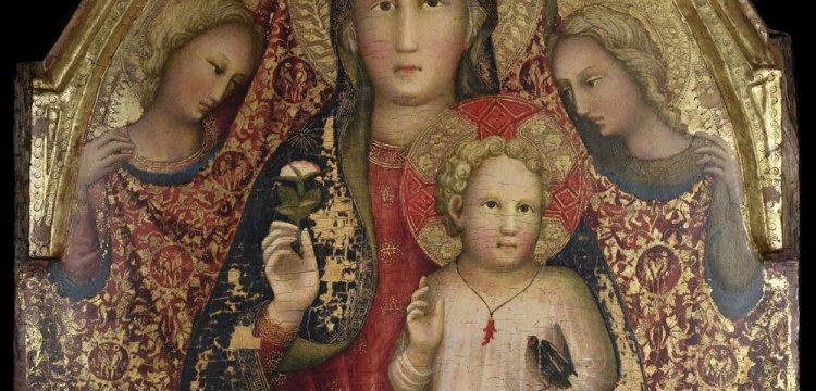 Spoleto, riunito ed esposto per la prima volta il trittico del Maestro della Madonna Straus