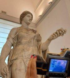 Al MANN le statue sono protette con sensori di monitoraggio ambientale per evitare deterioramento