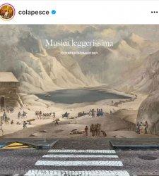 Copertina...artistica per Colapesce e Dimartino: un dipinto del Museo del Risorgimento di Torino