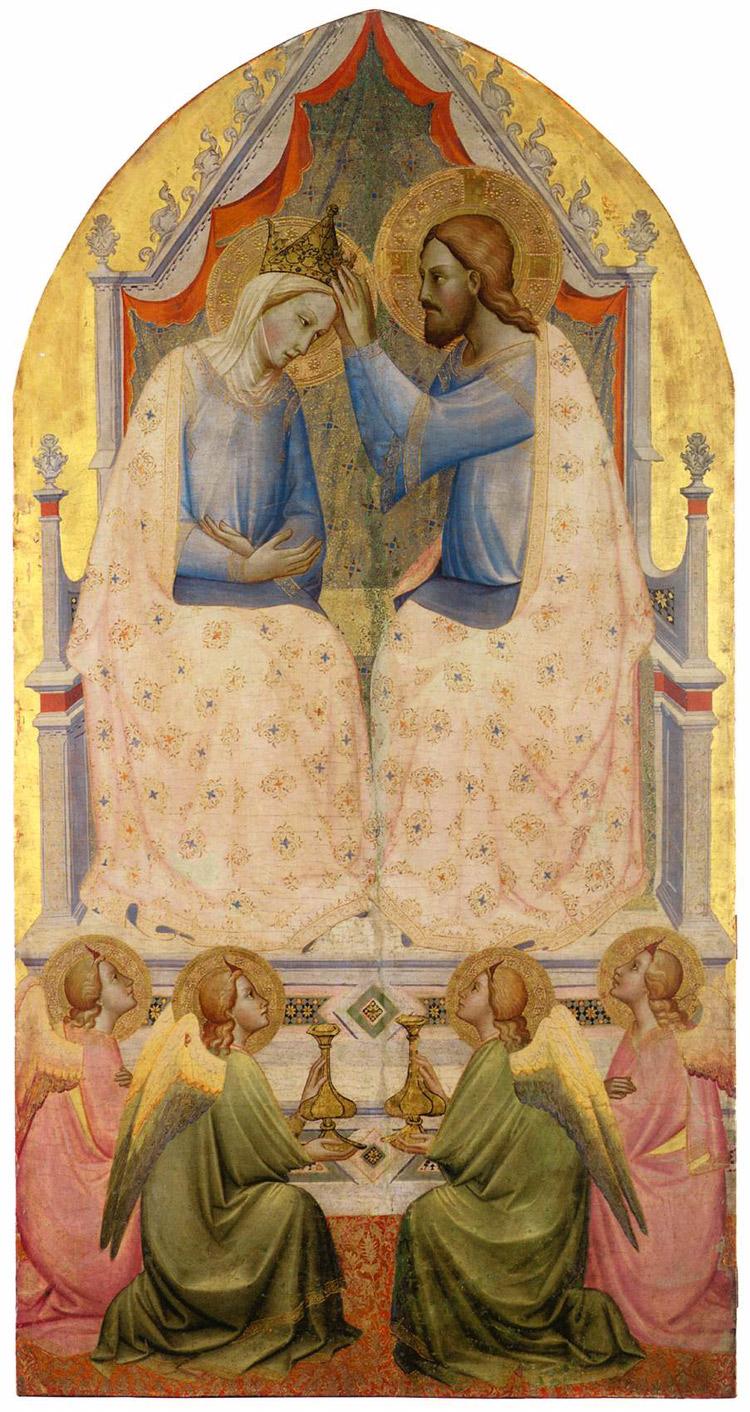 Incoronazione della Vergine di Agnolo Gaddi