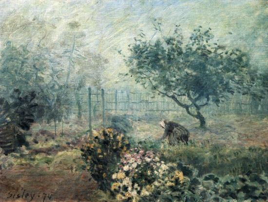 La nebbia di Alfred Sisley
