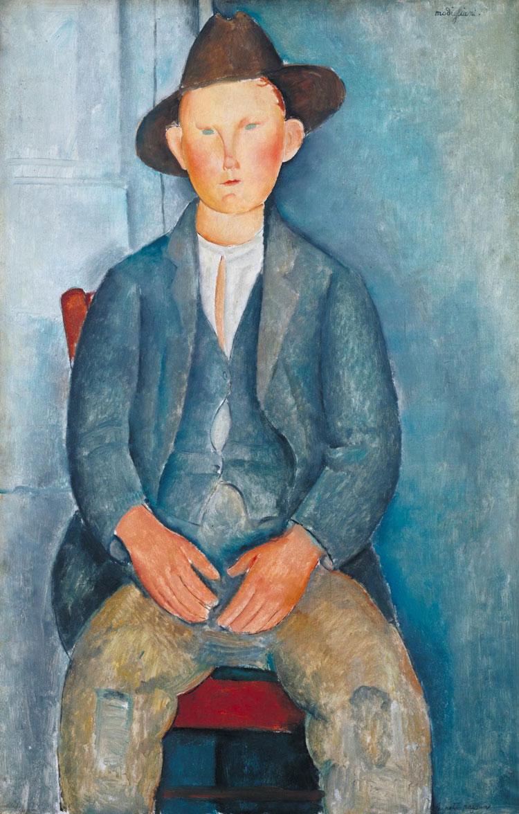 Il contadinello di Amedeo Modigliani