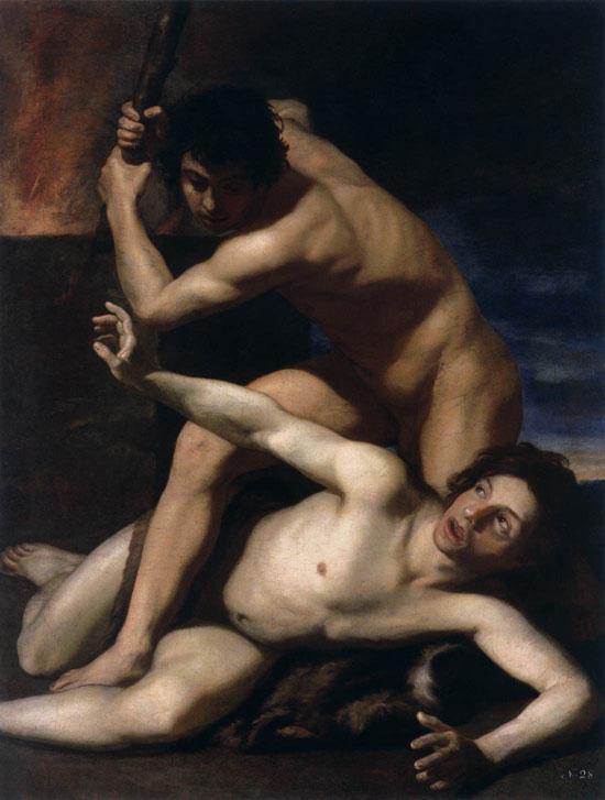 Caino e Abele di Bartolomeo Manfredi
