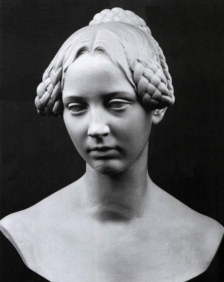 Ritratto di Leontine von Radziwill di Christian Daniel Rauch