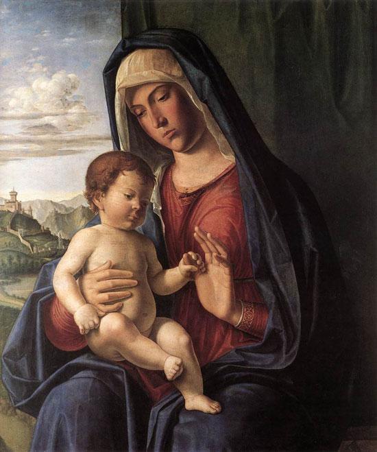 Madonna col Bambino di Cima da Conegliano