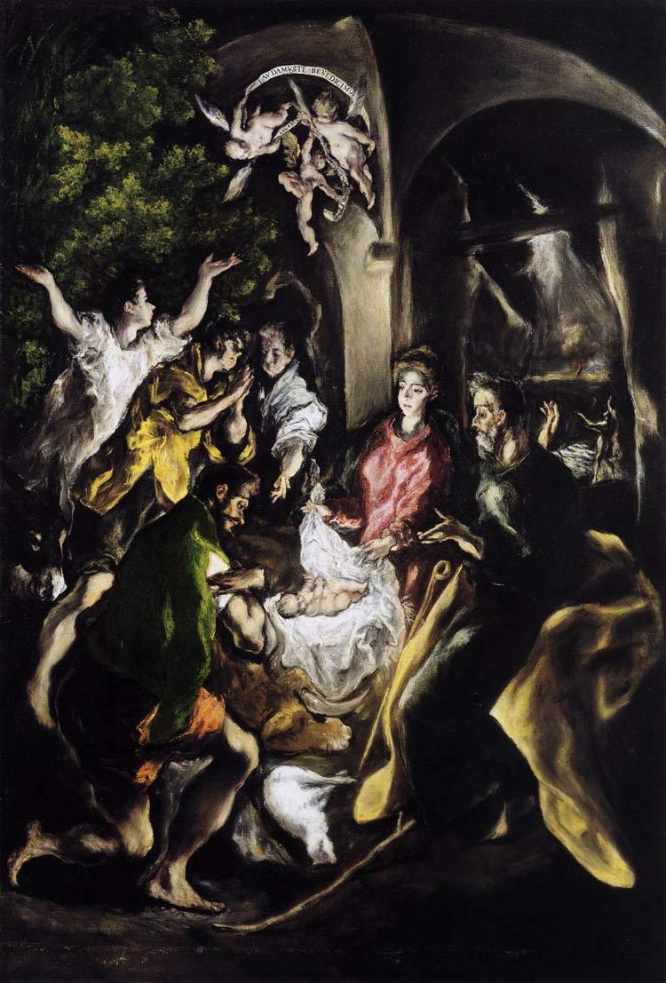 Adorazione dei pastori di El Greco
