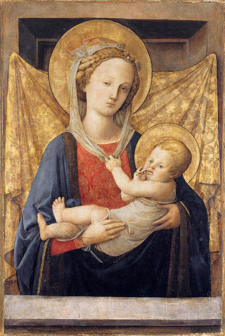 Madonna col Bambino di Filippo Lippi