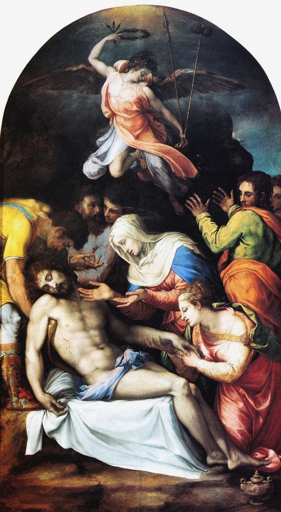 Compianto sul Cristo morto di Francesco Salviati