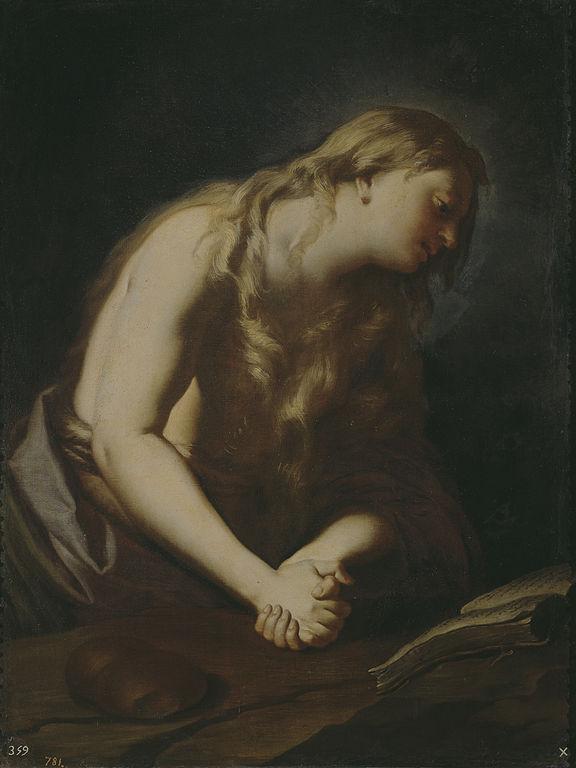 Maddalena penitente di Francesco Trevisani
