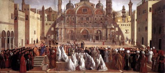 Predica di san Marco ad Alessandria di Gentile e Giovanni Bellini