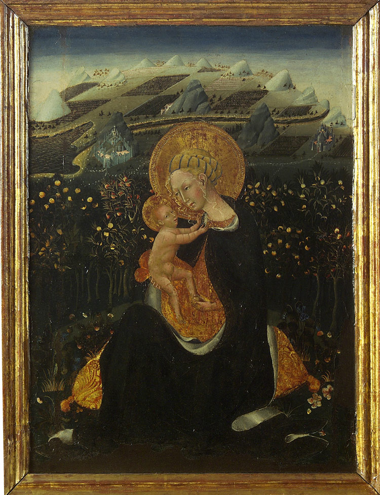 Madonna dell'Umiltà di Giovanni di Paolo