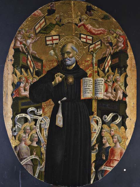 Apoteosi di san Nicola da Tolentino di Giovanni Mazone