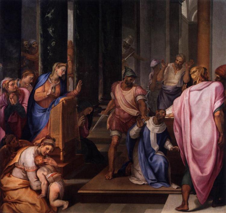Martirio di san Matteo di Girolamo Muziano