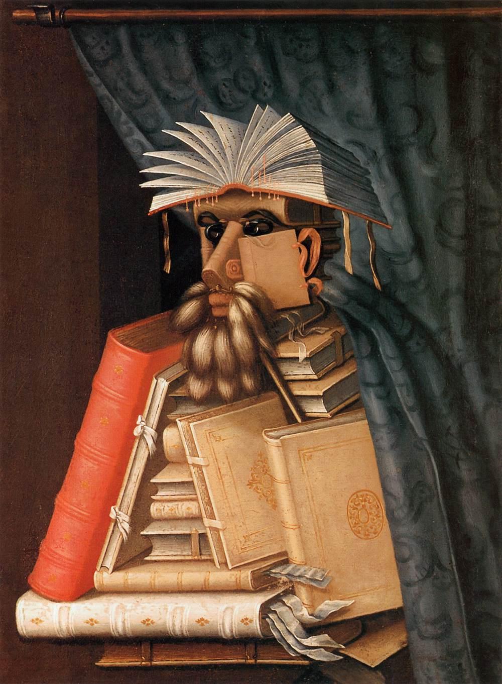 Il Bibliotecario di Giuseppe Arcimboldi (copia da)