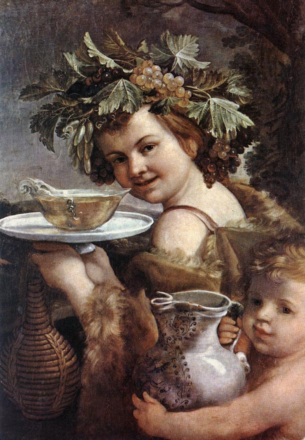 Bacco fanciullo di Guido Reni