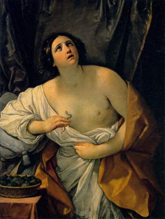 Cleopatra di Guido Reni