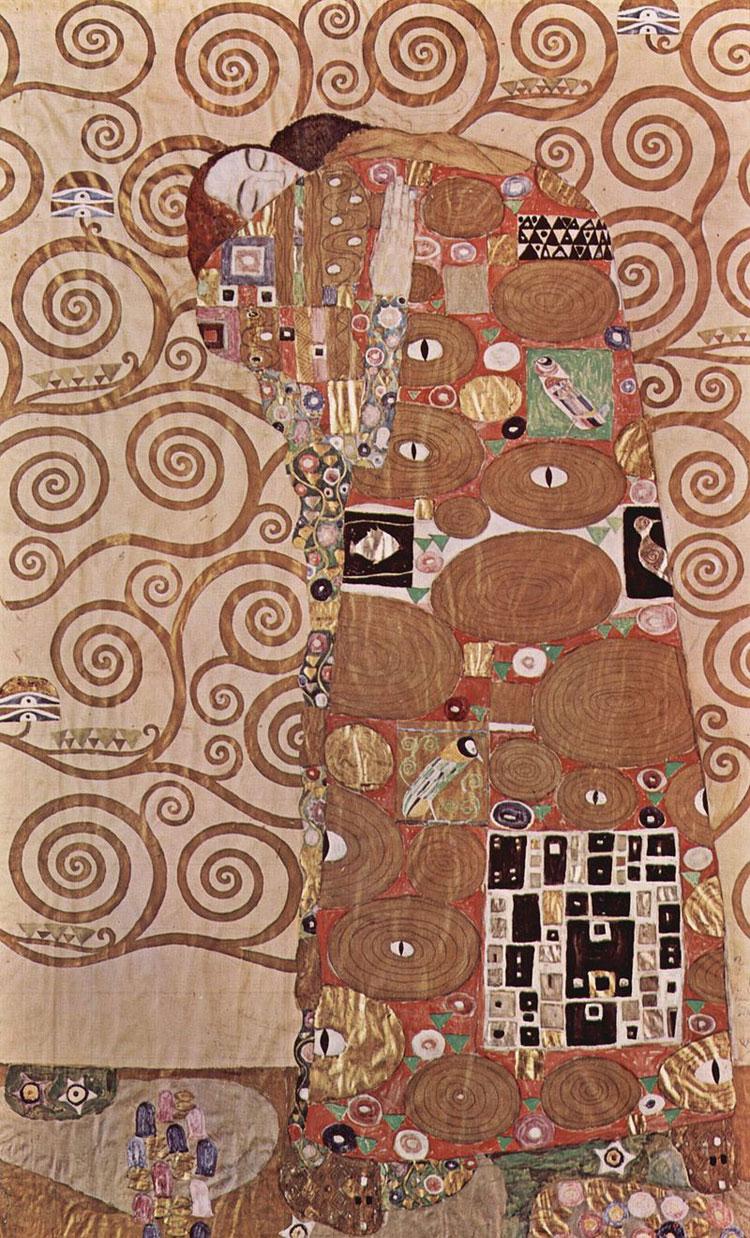 L'abbraccio di Gustav Klimt