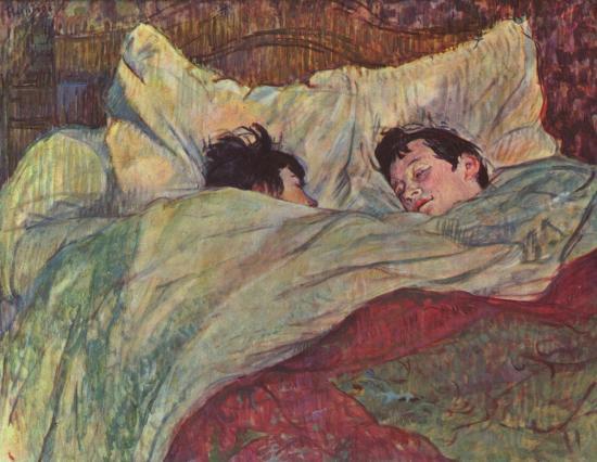 Henri de Toulouse-Lautrec, Le lit