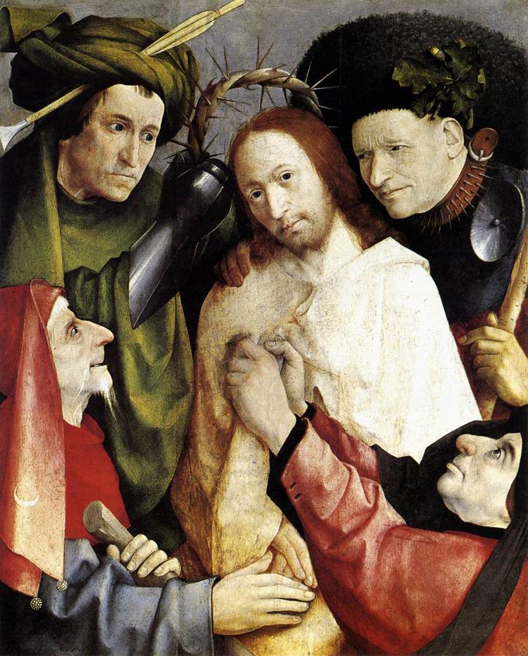 Cristo deriso (Incoronazione di spine) di Hieronymus Bosch