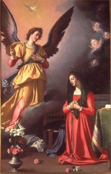 Annunciazione di Jacopo Chimenti detto l'Empoli