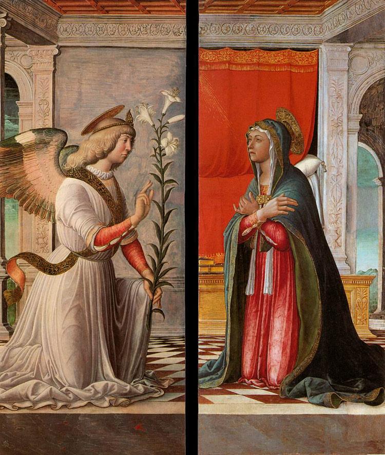 Annunciazione di Jacopo da Montagnana