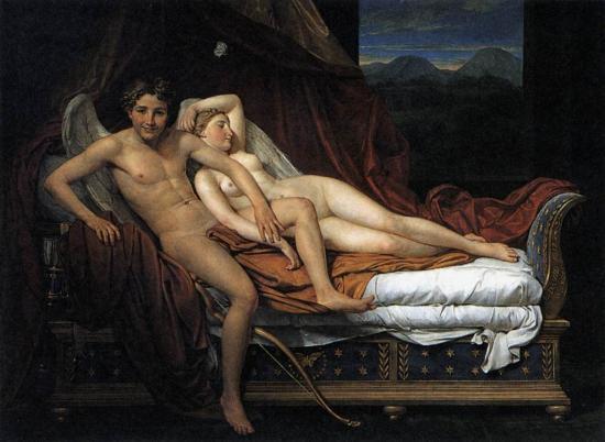 Amore e Psiche di Jacques-Louis David