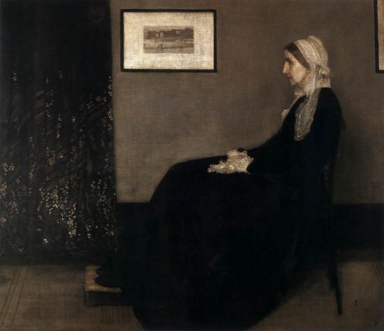 Accordi in grigio e in nero n 1 ritratto della madre di for Affitti della cabina di whistler