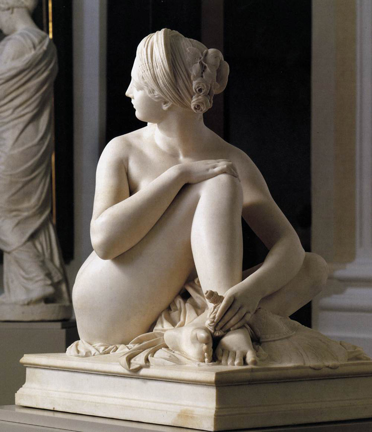 Odalisca di James Pradier