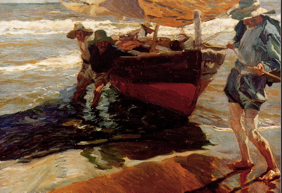 Ritorno dalla pesca di Joaquín Sorolla