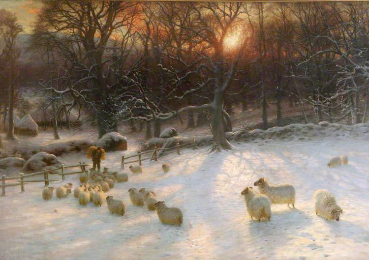 The shortening winter's day is near a close di Joseph Farquharson