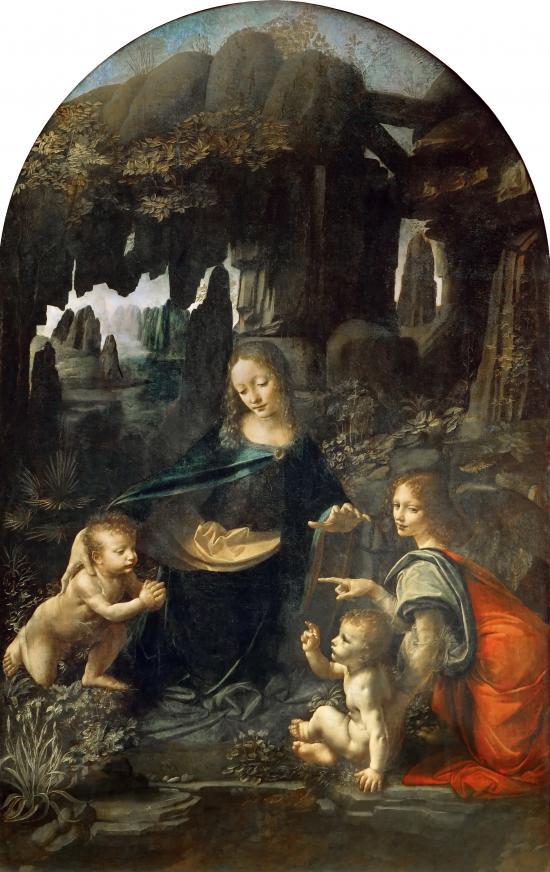 La Vergine delle Rocce (Parigi) di Leonardo da Vinci