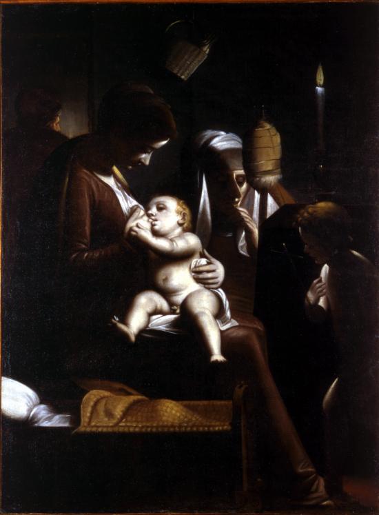 Madonna della candela di Luca Cambiaso